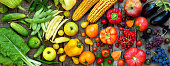 istock yellow, orange, red fruits and vegetables 605778322