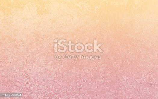 Yellow Orange Red Ombre Gradient Grunge Concrete Background Pattern Autumn Holiday Bleached Abstract Stucco Close-up Texture Copy Space Design template for presentation, flyer, card, poster, brochure, banner