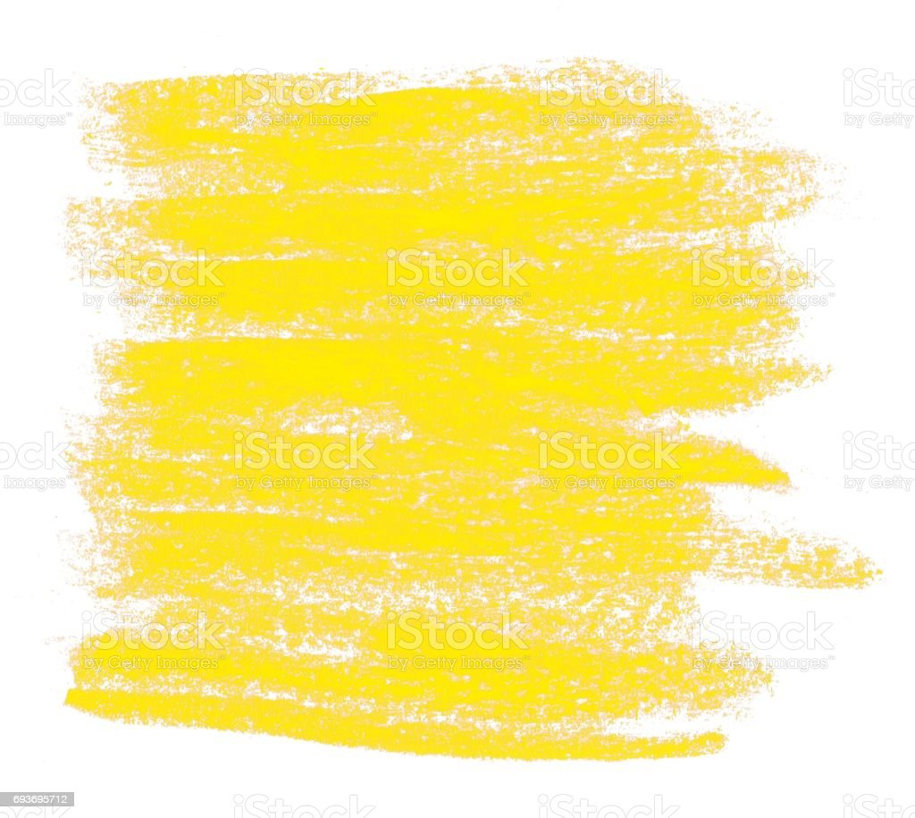 Yellow painted Chalk Background stock photo