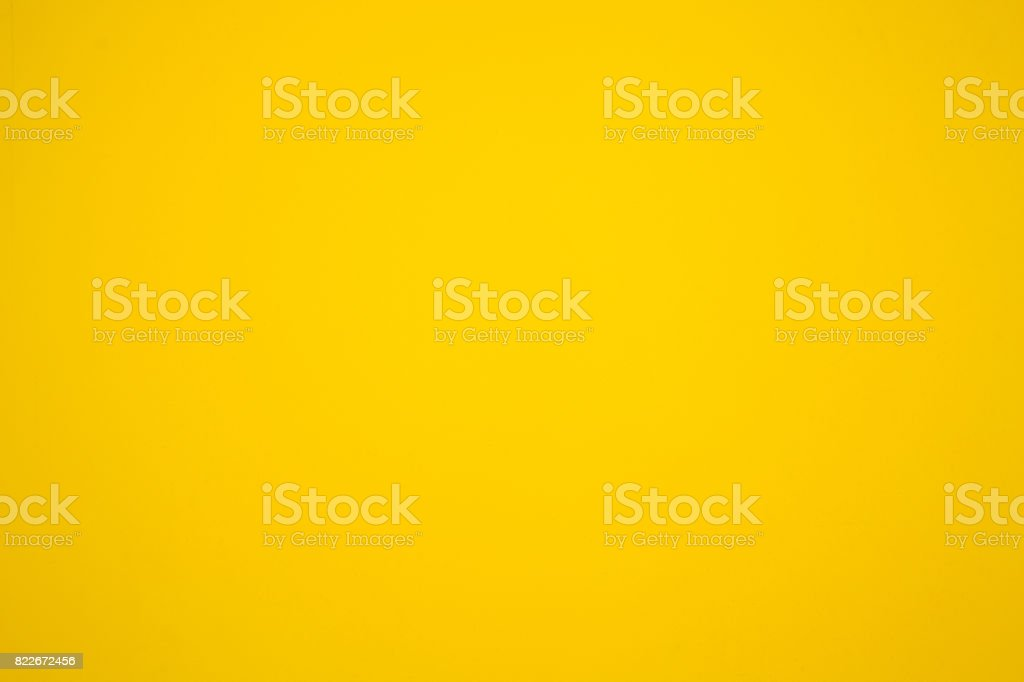 yellow painted wall, yellow color backgrounds stock photo