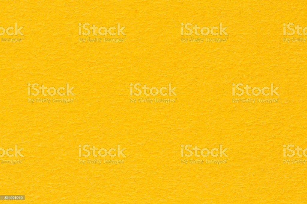 Fondo de papel amarillo, textura de papel de colores - foto de stock