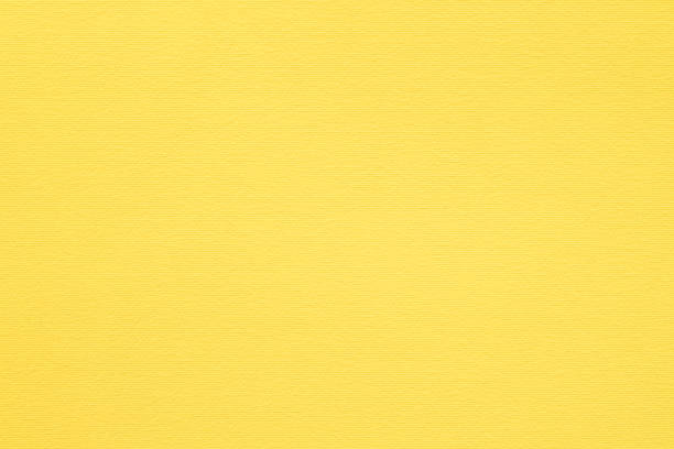 yellow paper texture background fibers grain empty yellow paper texture background. colored cardboard fibers and grain. empty space concept. yellow stock pictures, royalty-free photos & images
