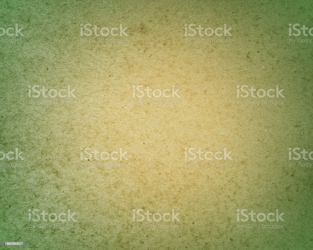 yellow paper with green vignette royalty-free stock photo