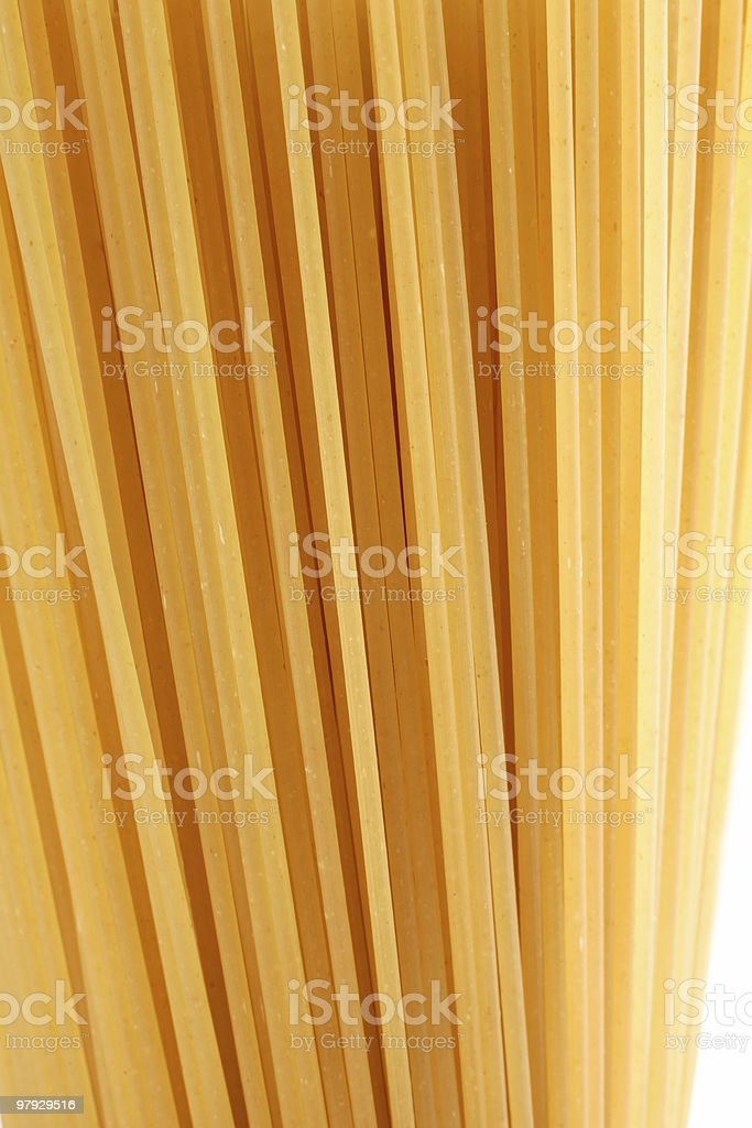 Yellow pasta royalty-free stock photo