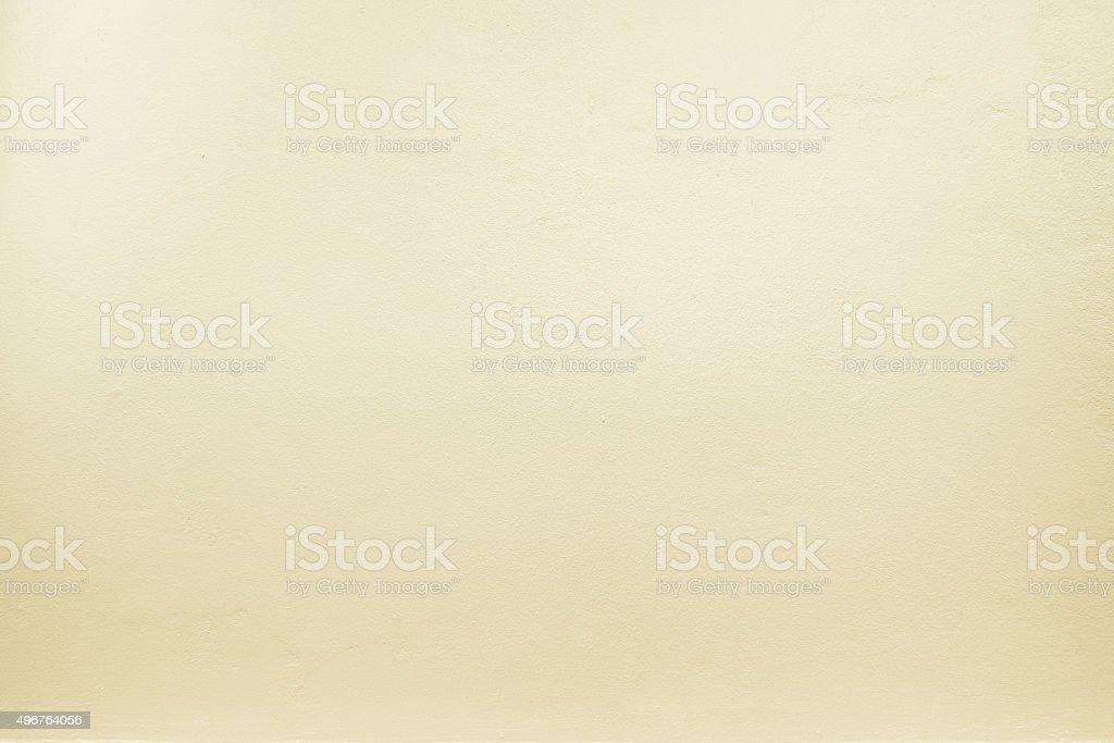 Photo De Jaune Pastel Couleur De La Peinture Sur Le Mur De Ciment