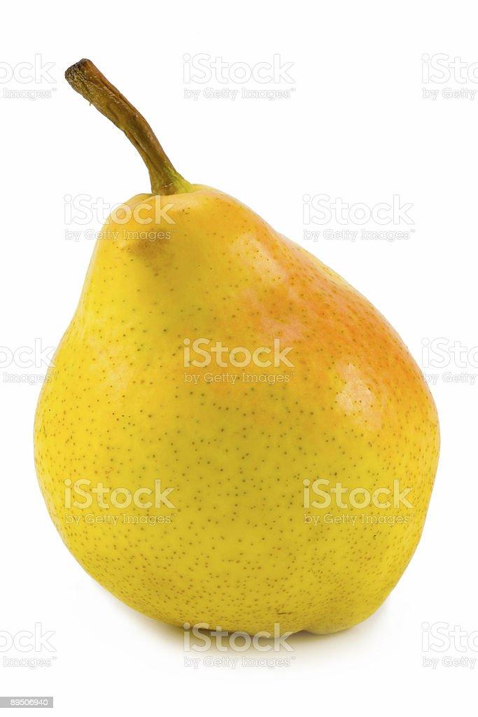 yellow pear royalty-free stock photo