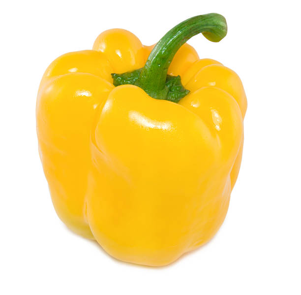 Yellow peppe  yellow bell pepper stock pictures, royalty-free photos & images