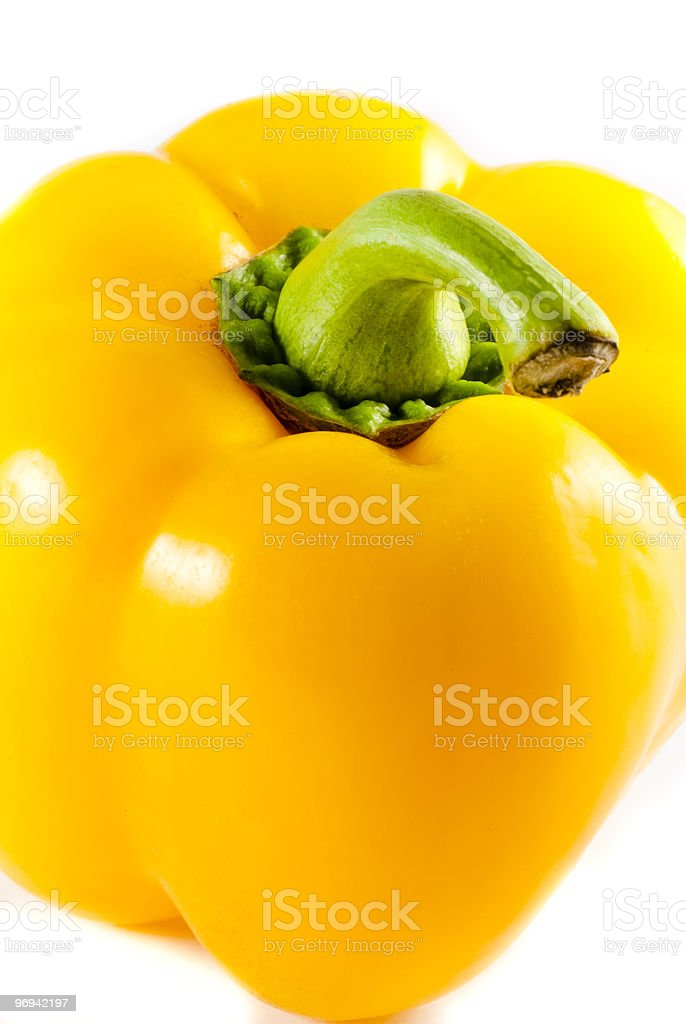 Yellow Pepper royalty-free stock photo