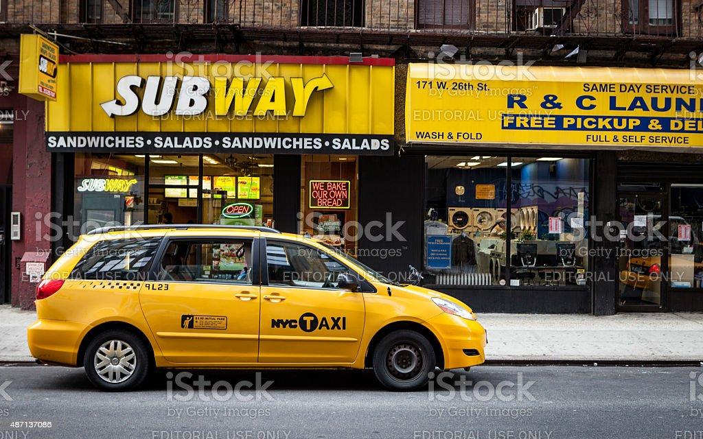 NYC Yellow stock photo