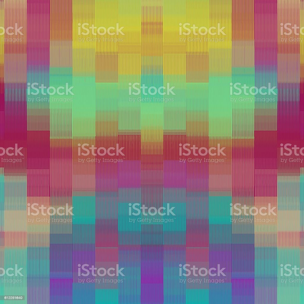 yellow pink blue and purple plaid pattern abstract stock photo