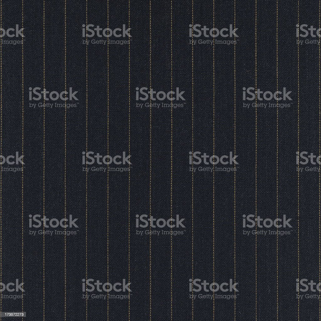 Yellow Pinstripe Cloth stock photo
