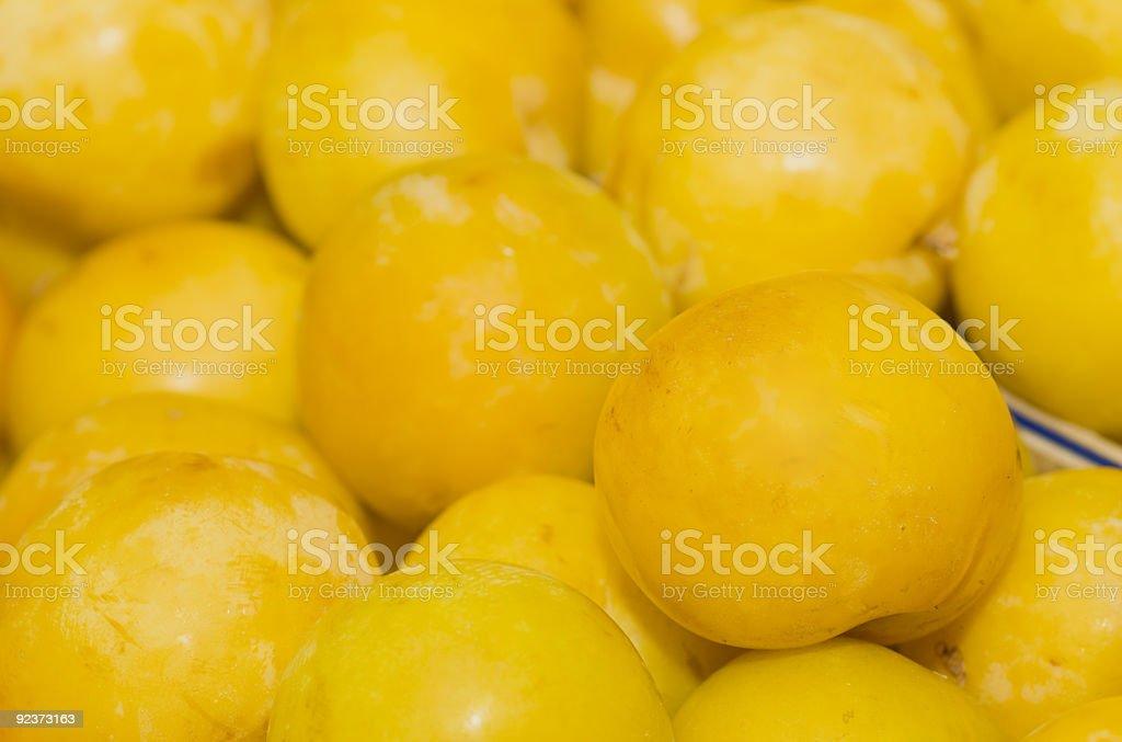 Gelbe Pflaumen Lizenzfreies stock-foto
