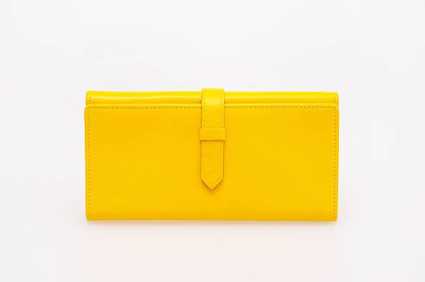 yellow purse - leder handtaschen damen stock-fotos und bilder