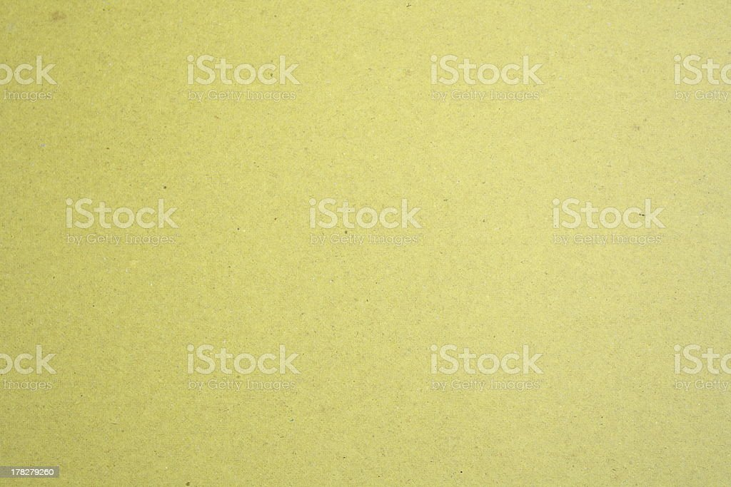 yellow recycled paper royalty-free stock photo