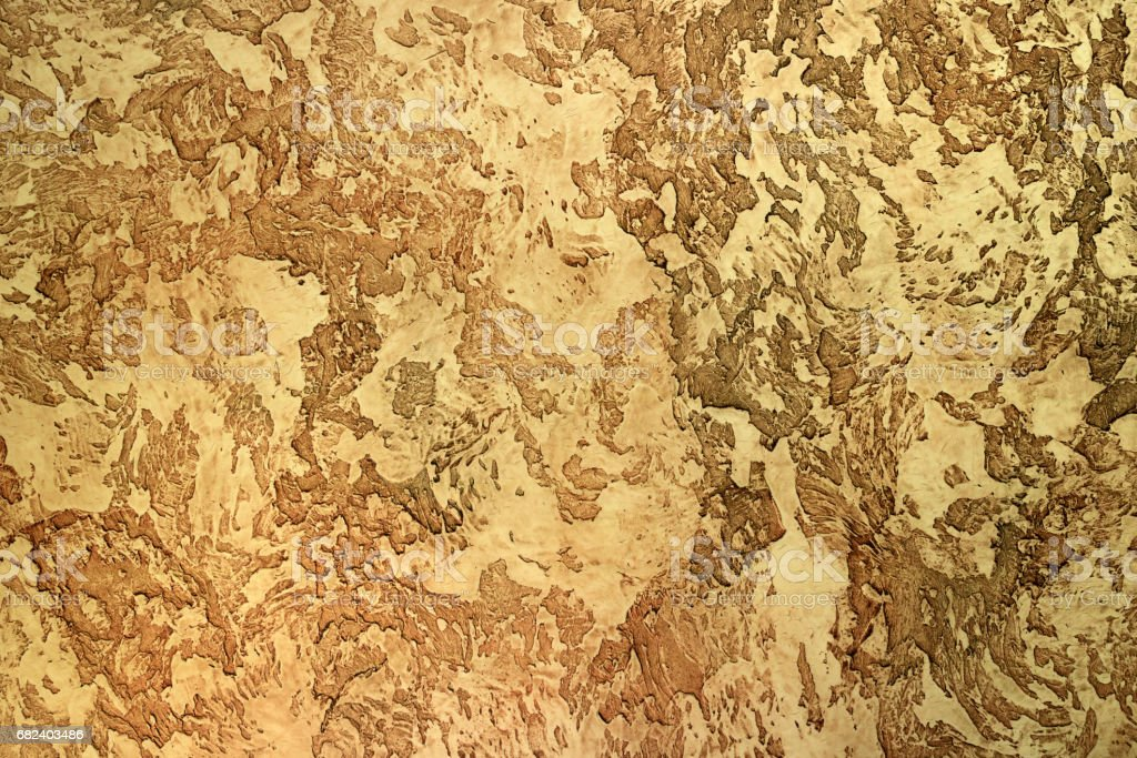 yellow relief textured clay for interior decorating royalty-free stock photo