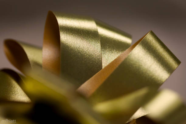 Yellow Ribbon stock photo