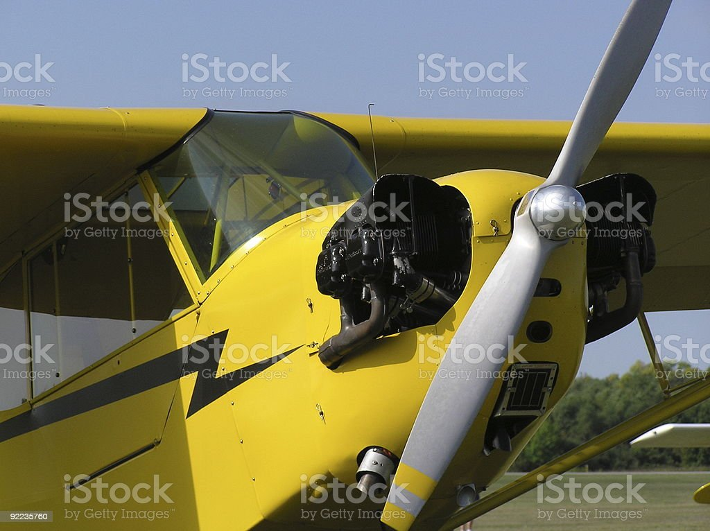 Yellow Ride royalty-free stock photo