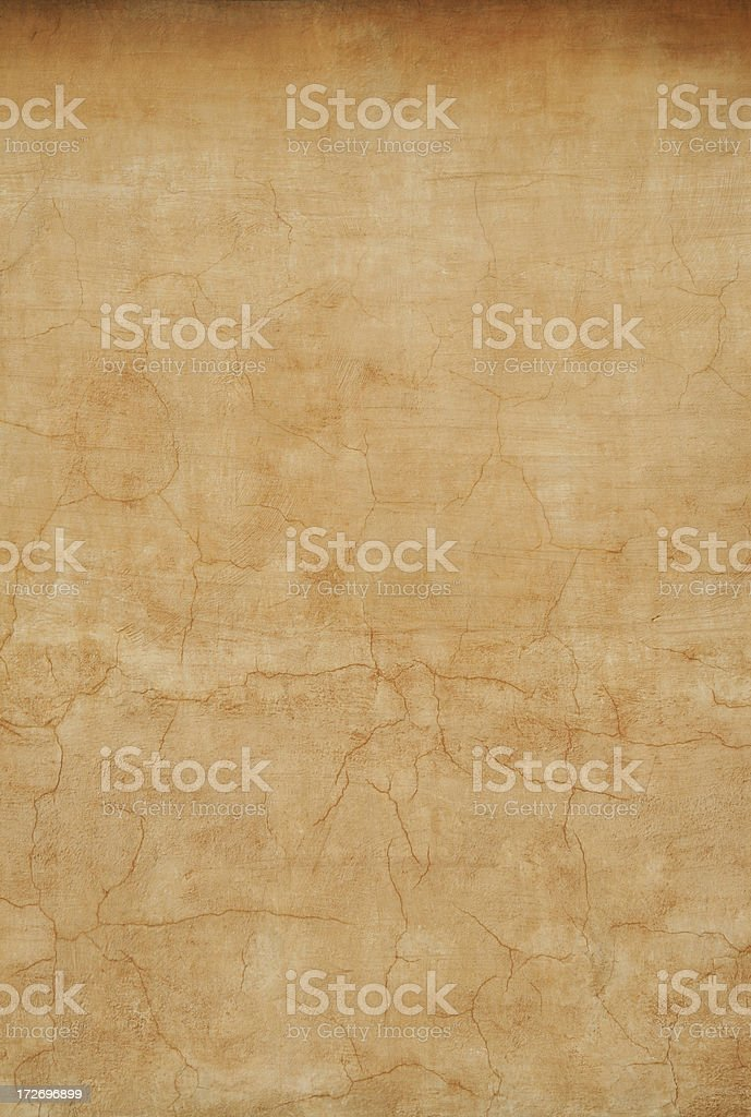 Yellow Roman grunge wall texture background, Rome Italy royalty-free stock photo