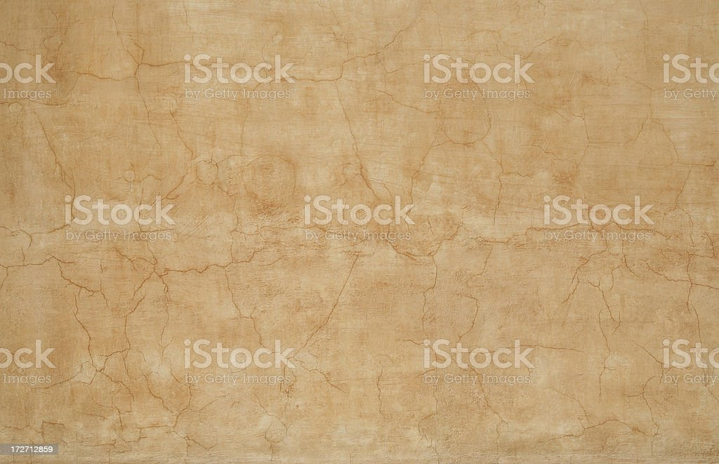 Yellow Roman grunge wall texture, Rome Italy royalty-free stock photo