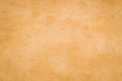 Yellow Roman wall texture rectangular background, Rome Italy