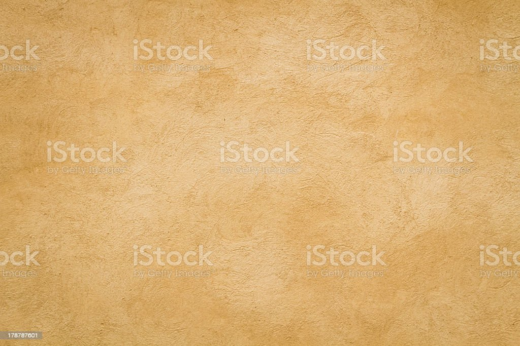 Yellow Roman wall texture rectangular background, Rome Italy stock photo