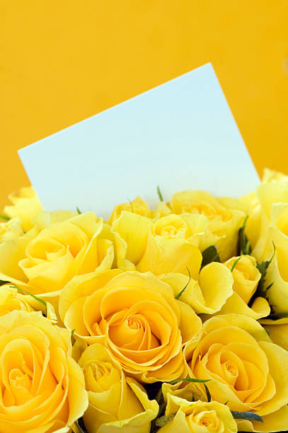 Yellow Roses Invitation