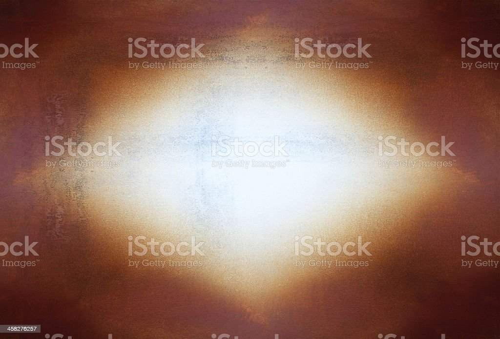 Yellow rust grunge old cement weathered royalty-free stock photo
