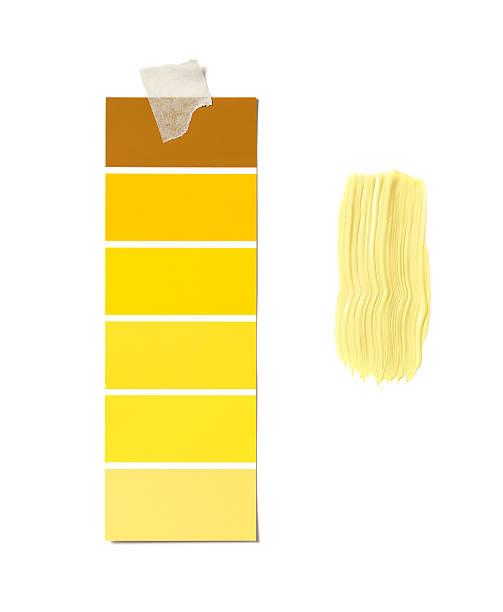 Gelbe Kosten und Farbe – Foto