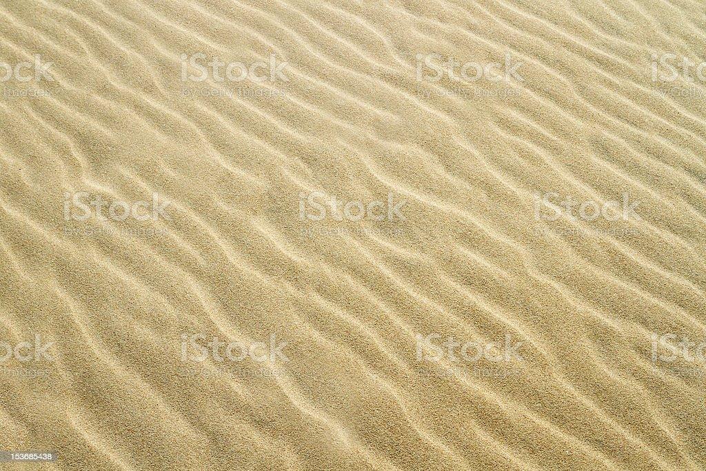 Yellow sand texture royalty-free stock photo