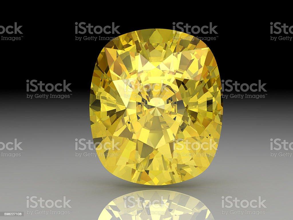Amarelo de safira foto royalty-free