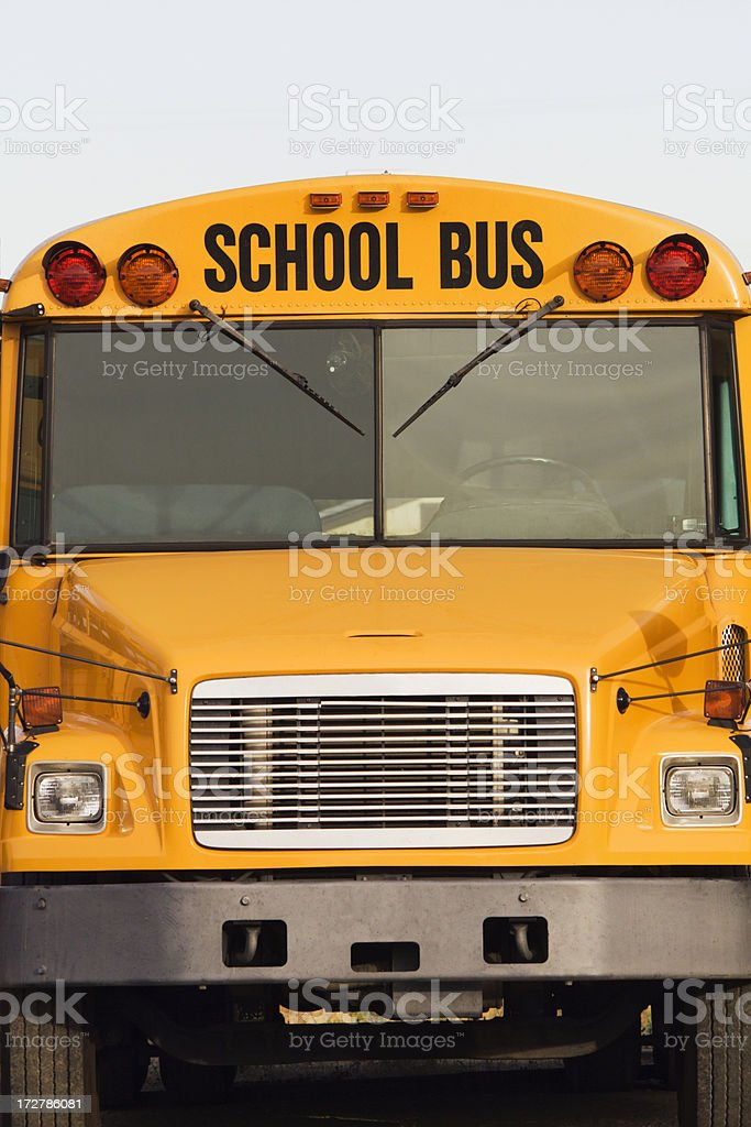 Yellow School Bus royalty-free stock photo