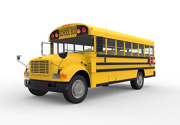 黄色いスクールバス - スクールバス ストックフォトと画像
