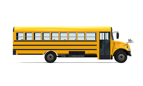 yellow school bus - school buses stock pictures, royalty-free photos & images