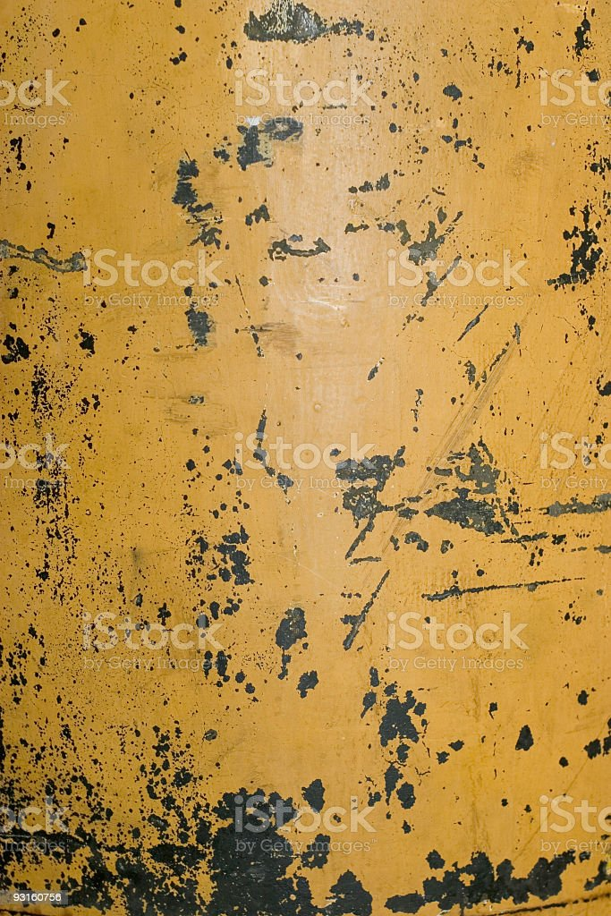 Yellow Scratches royalty-free stock photo