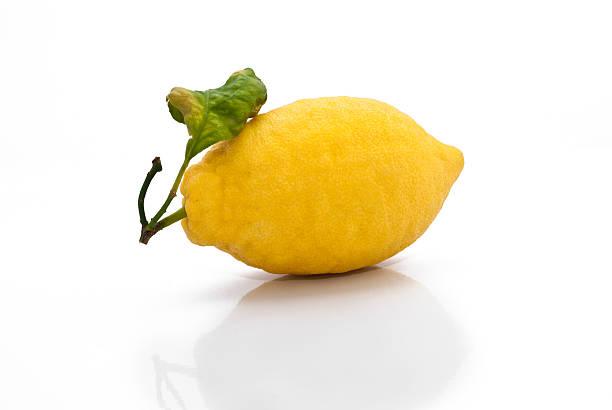 Giallo limone fresco siciliana - foto stock