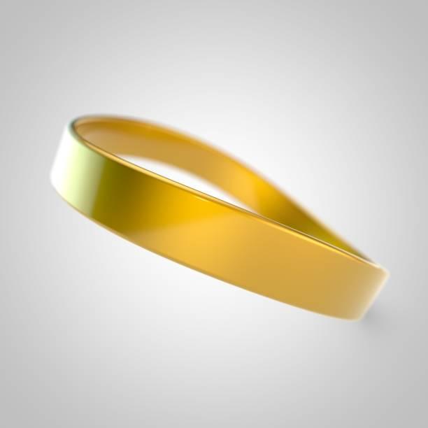 gelbes silikonarmband promo für hand isoliert auf weißem hintergrund - a zone armband stock-fotos und bilder
