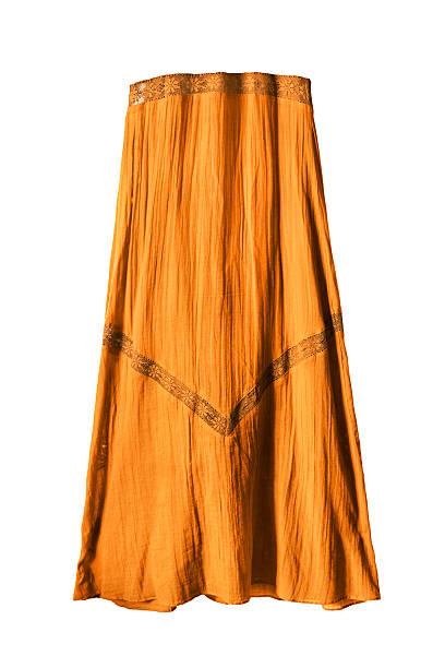 yellow skirt isolated - spitzen maxi stock-fotos und bilder