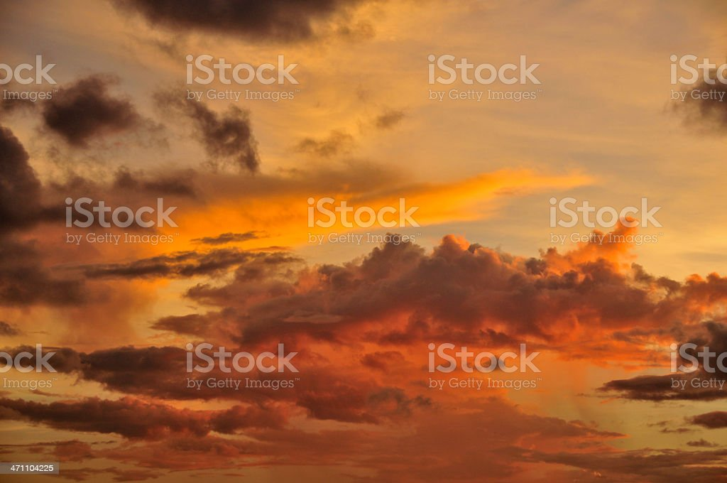 Yellow Sky royalty-free stock photo