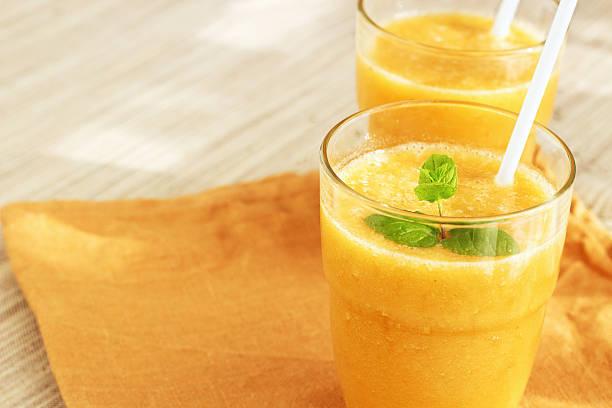 yellow smoothie - juice 個照片及圖片檔