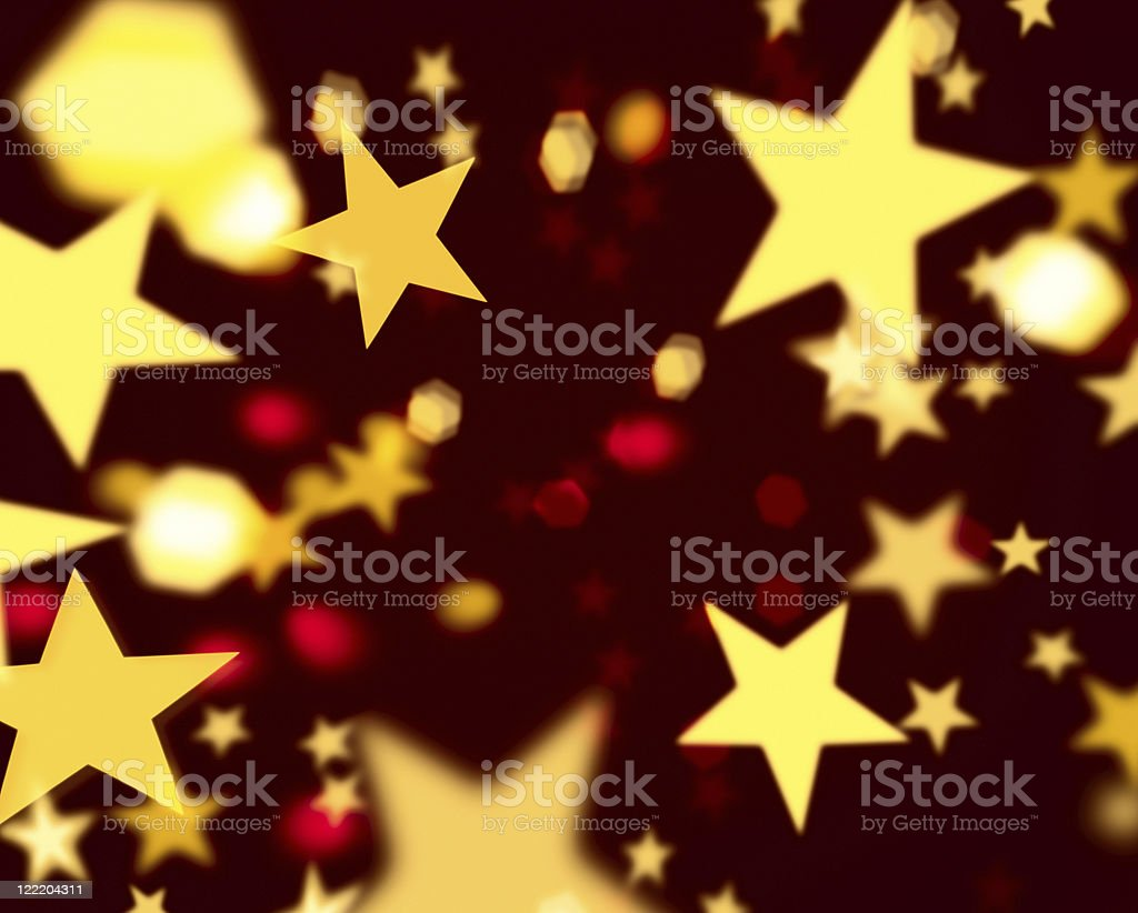 yellow stars royalty-free stock photo