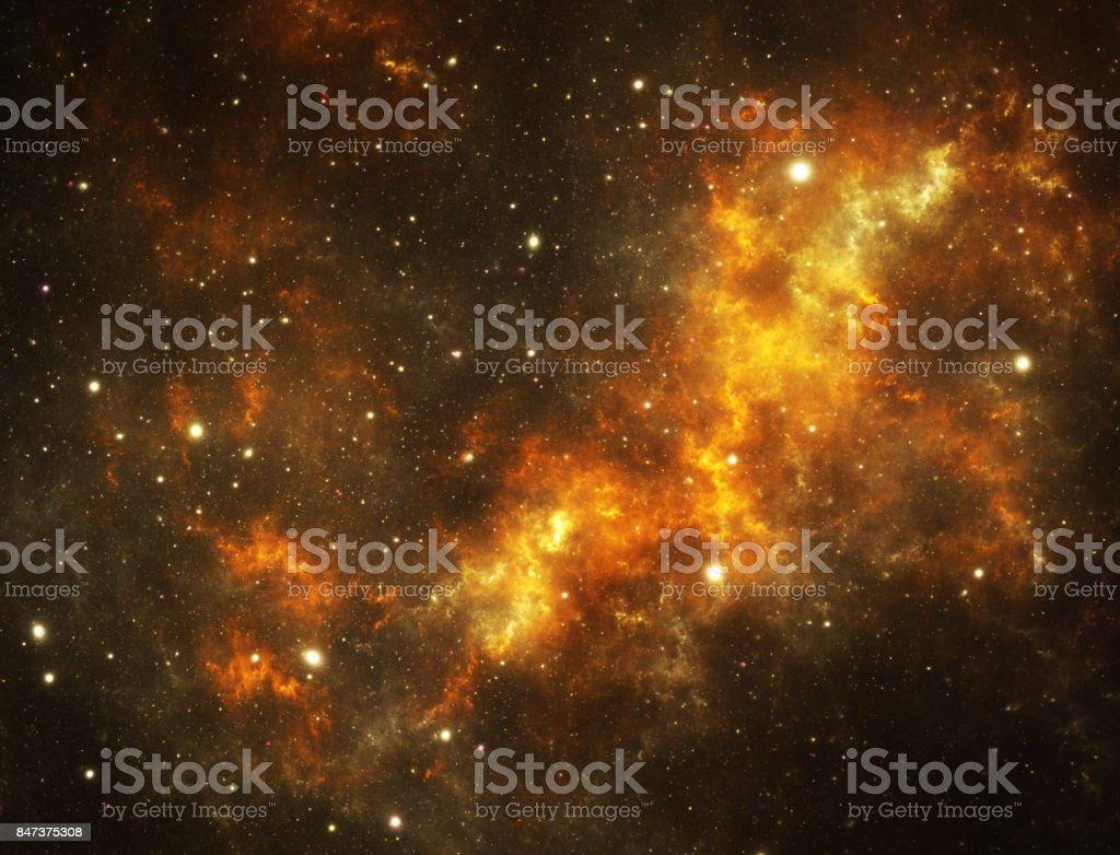 Yellow stars stock photo