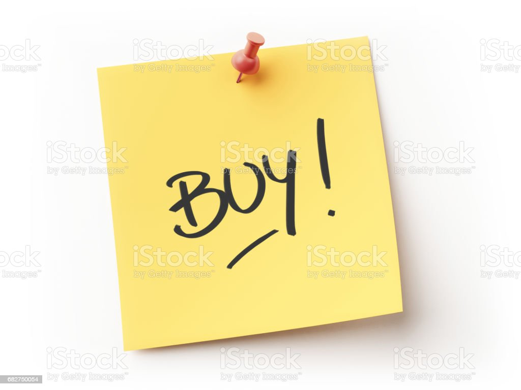 Yellow Sticky Note Message stock photo