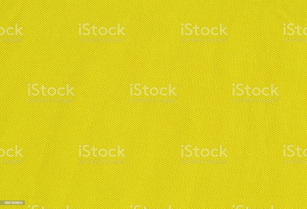 yellow stretch fabric texture and background stock photo