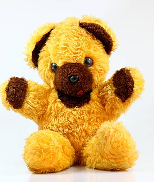 Gelbe Teddybär – Foto