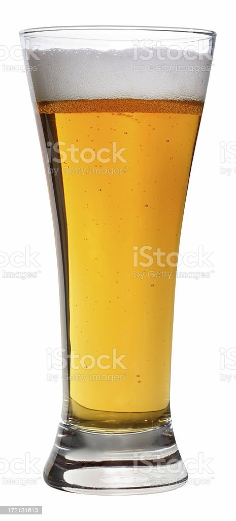 Yellow The Color Of Beer royalty-free stock photo