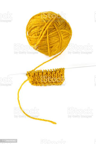 Yellow thread and knitting needle isolated on white picture id1128939362?b=1&k=6&m=1128939362&s=612x612&h=dthqwsxqob0ltfne1l56mzqcsso5tkikdzlye7hrbum=