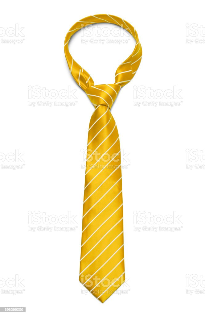 Yellow Tie stock photo