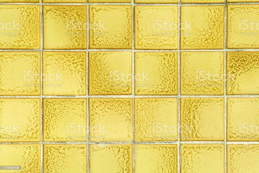 Yellow Tile stock photo
