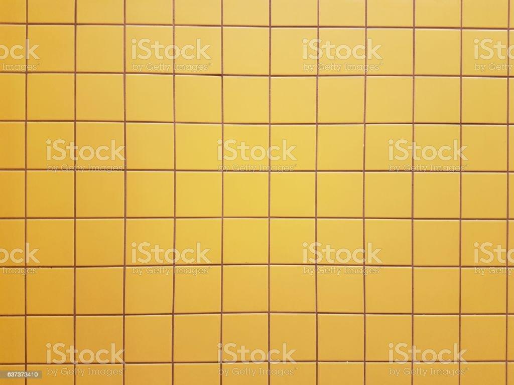 Gelbe Fliesen – Foto