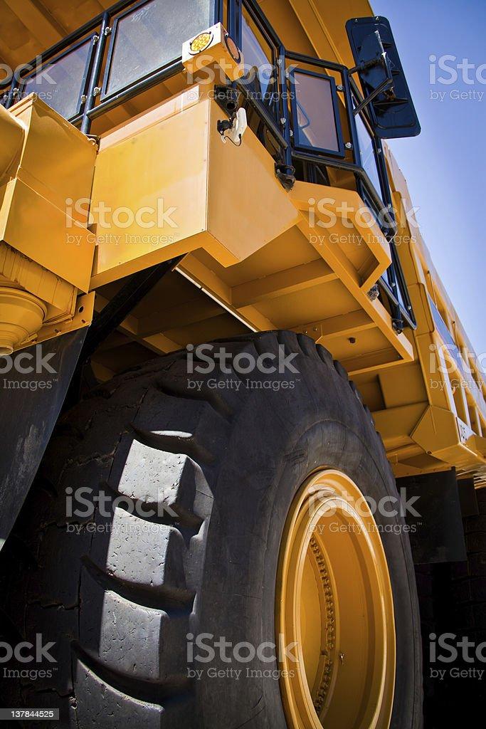 Yellow Truck stock photo